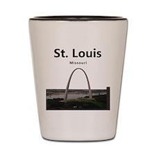 St. Louis Shot Glass