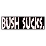 Bush Sucks Bumper Sticker