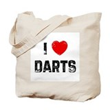 I * Darts Tote Bag