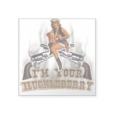 im your huckle berry Oval Sticker