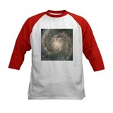 M51 the Whirlpool Galaxy Baseball Jersey