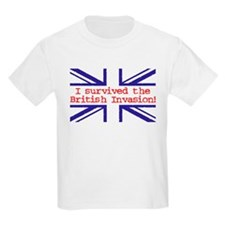 I Survived the British Invasion Kids T-Shirt