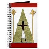 Egyptian Print Art Journal