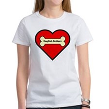 English Setters Heart T-Shirt