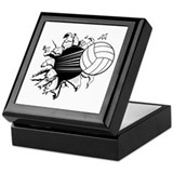 Breakthrough Volleyball Keepsake Box