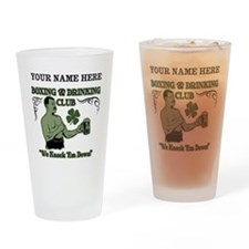 Personalizable Irish Club Drinking Glass