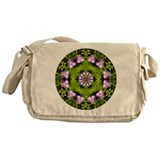 Cool Floral Messenger Bag