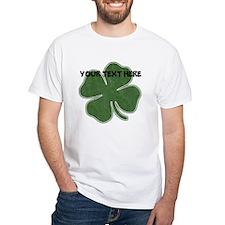 Personalizable Vintage Shamrock T-Shirt