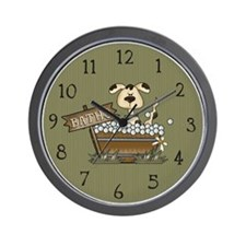 Cute Kids bath Wall Clock