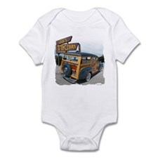 Joe's Tiki Woody Infant Bodysuit
