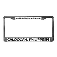 Happiness is Caloocan License Plate Frame