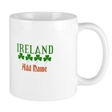 Irish Shamrocks Add Name Mug