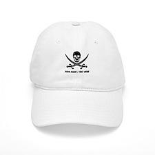 Custom Pirate Baseball Baseball Cap