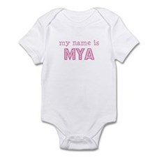 My name is Mya Infant Bodysuit