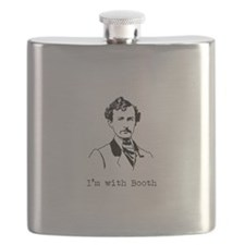 I'm with Booth Flask