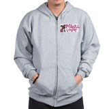pitbull lover Zipped Hoody