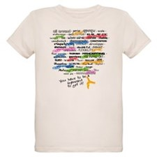 The Words of Gymnastics T-Shirt