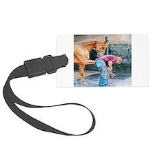 Horse Pedicure Luggage Tag