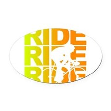 ride.png Oval Car Magnet