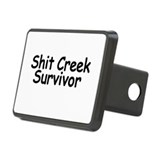 Shit Creek Survivor Hitch Cover