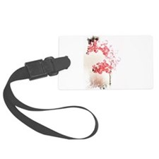 Orchid Blossom Luggage Tag