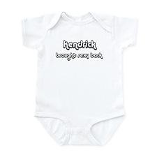 Sexy: Kendrick Infant Bodysuit