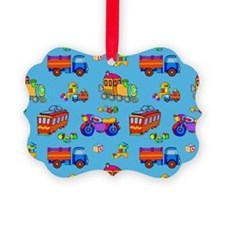 Toys Trucks & Trains Ornament