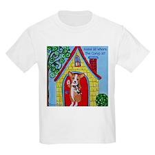Home is Where The Corgi is T-Shirt