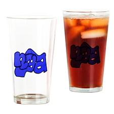nya Blue Drinking Glass