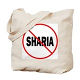 No Sharia Tote Bag
