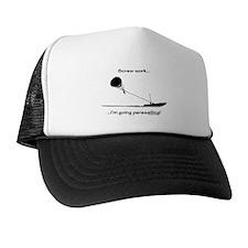 Screw Work, I'm Going Parasailing Trucker Hat