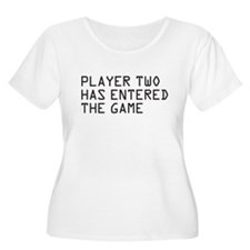 player two Plus Size T-Shirt