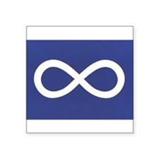 Metis Rectangle Sticker