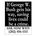 Is Saving Lives a Crime? 16x20 Poster