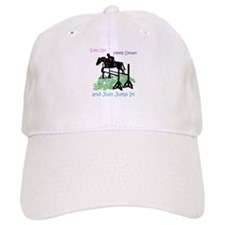 Fun Hunter/Jumper Equestrian Horse Baseball Baseball Cap