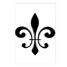 Fleur De Lis Postcards (Package of 8)