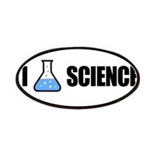 I Love Science Patches