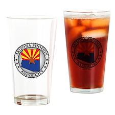 Arizona Phoenix LDS Mission State Flag Cutout Drin