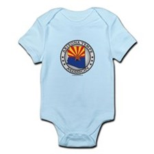 Arizona Tempe LDS Mission State Flag Cutout Body S