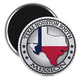 Texas Houston South LDS Mission State Flag Cutout