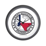 Texas flag Basic Clocks