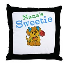 Nanas Sweetie Throw Pillow