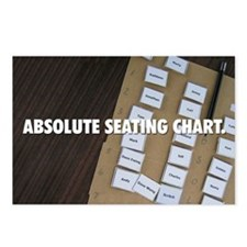 Seating Chart Postcards (Package of 8)