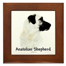 Anatolian Charcoal Framed Tile