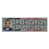 DR.CARSON BUMPER Bumper Car Sticker