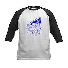 Blue Ghost Pirate Baseball Jersey