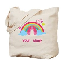 Personalized Ballet Dance Tote Bag