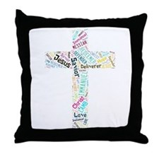 Names of Jesus Throw Pillow
