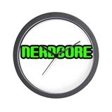 Nerdcore Wall Clock