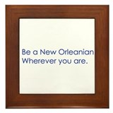 New Orleans Framed Tile